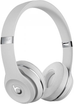 BEATS Solo3 Wireless On-Ear Headphones Satin Silver