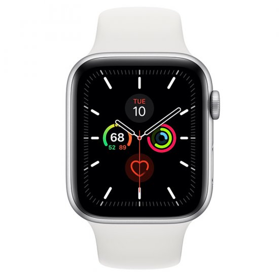 Apple Watch Series 5 GPS 44mm Silver Aluminum Case